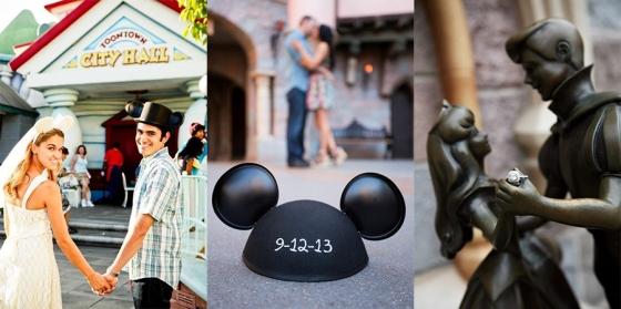 Disney Engagement Photo Opps